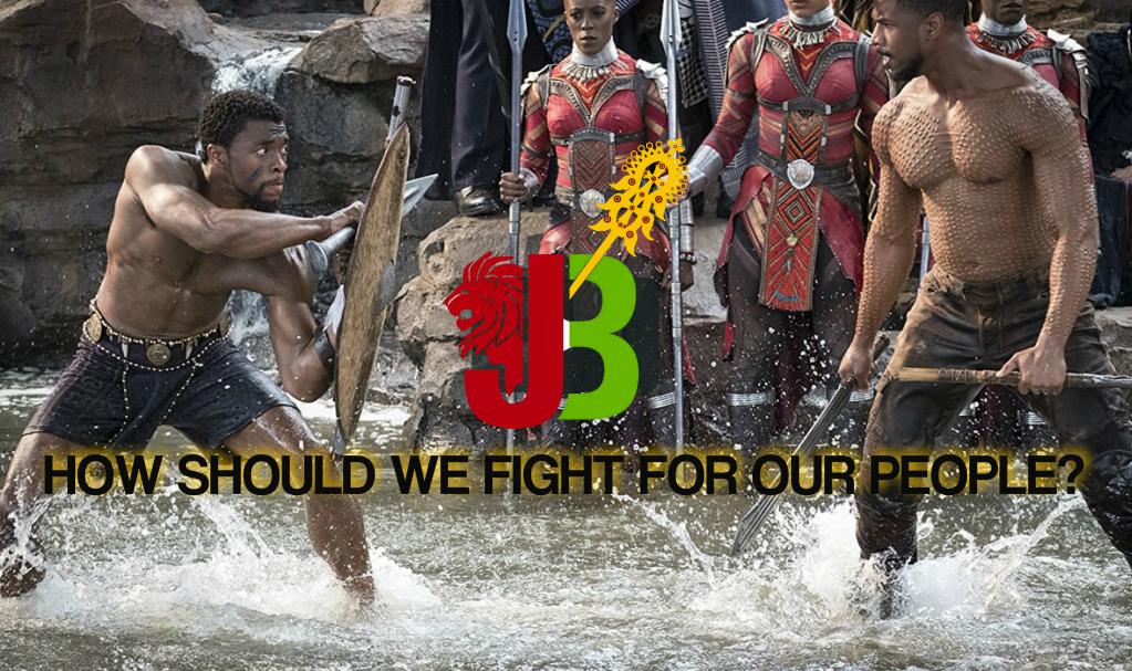 Black Panther vs. Killmonger Black Power