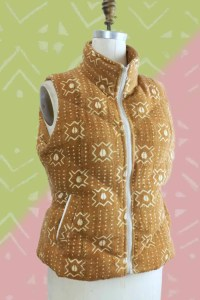 Mali Mud Cloth Vest