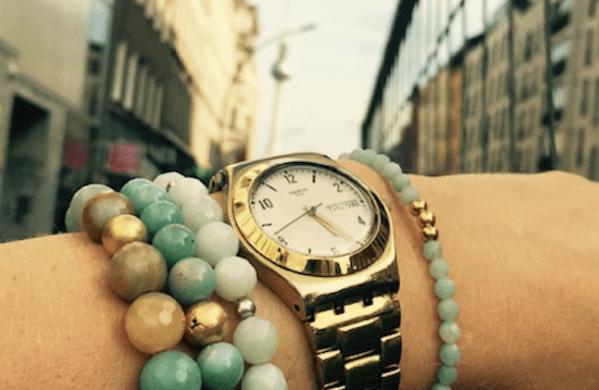Amazonit Armband