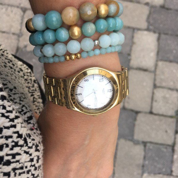 Amazonit Armband multicolor