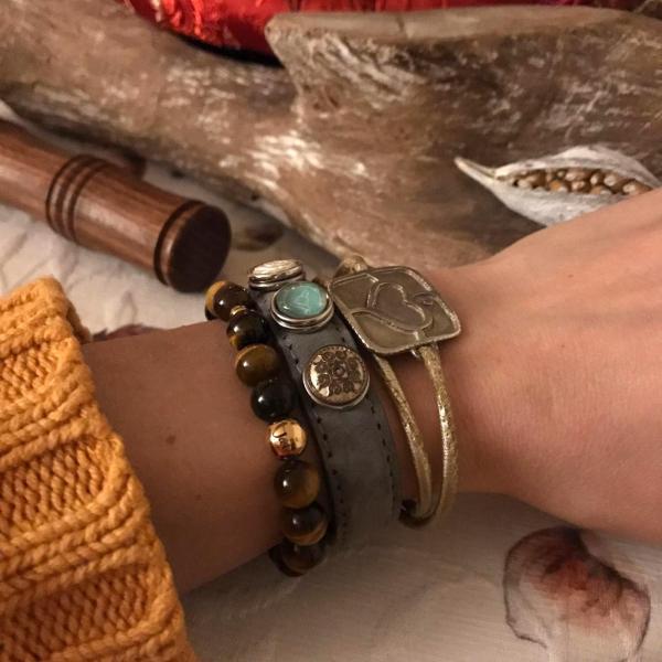 Yoga Armband Tigerauge