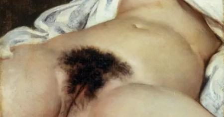 L'Origine du Monde, de Gustave Courbet