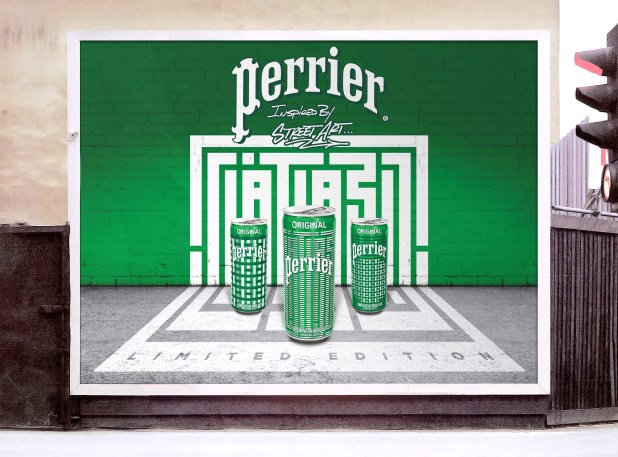 Perrier inspired by Street Art