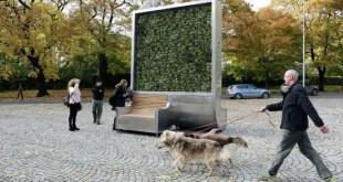 Un mur végétal qui dépollue autant que 275 arbres