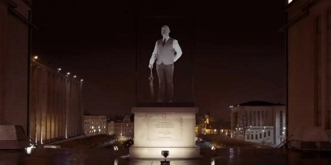 Thalys et Rosapark transforment les Bruxellois en oeuvres d'art