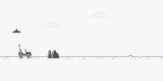 Jeep remplace le célèbre dinosaure de Google Chrome par une voiture