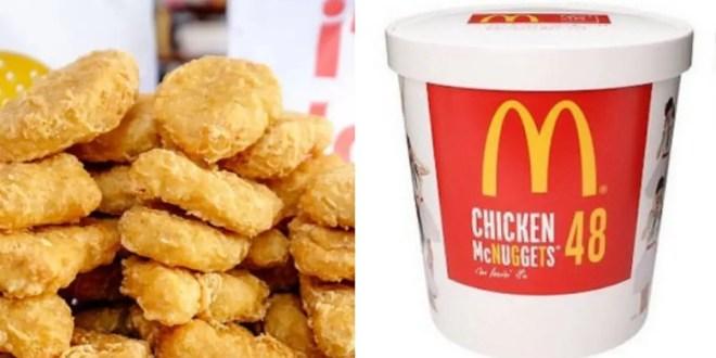 McDonald's lance la boite de 48 nuggets et ça fait plaisir !