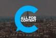 Découvrez All for Content 2019 : Le salon des acteurs du brand content