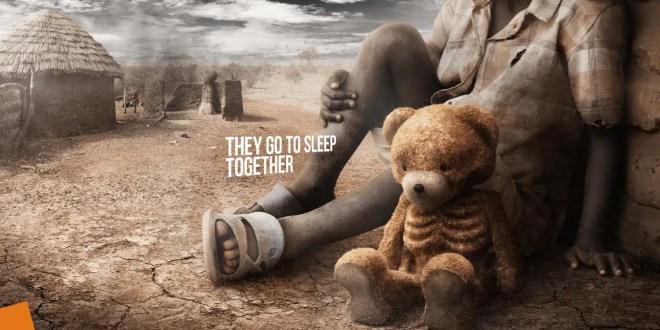 Cette campagne poignante rappelle que les enfants sont les premiers touchés par la faim