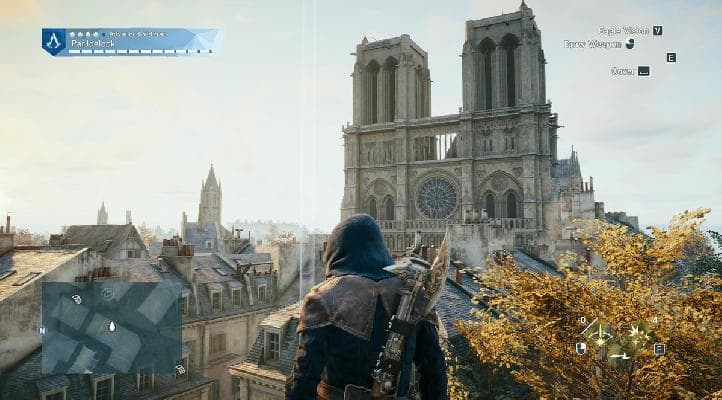 Ces gamers rendent hommage à Notre-Dame de Paris avec Assassin's Creed