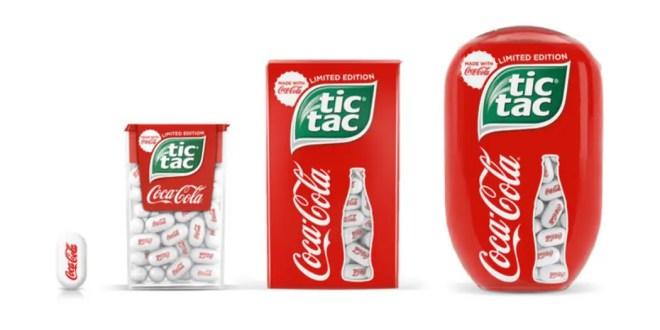 Un partenariat inédit entre Tic Tac et Coca-Cola !