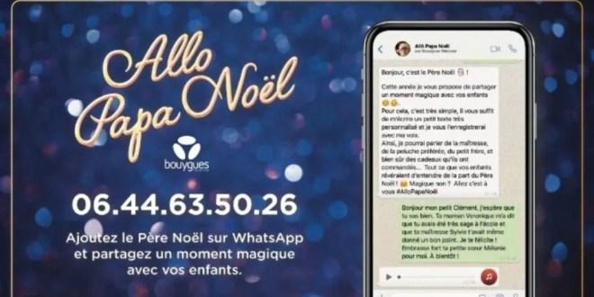 Bouygues Telecom vous dévoile le numéro du Père Noël !
