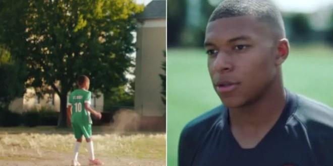 Nike sort une publicité incroyable en hommage à Kylian Mbappé