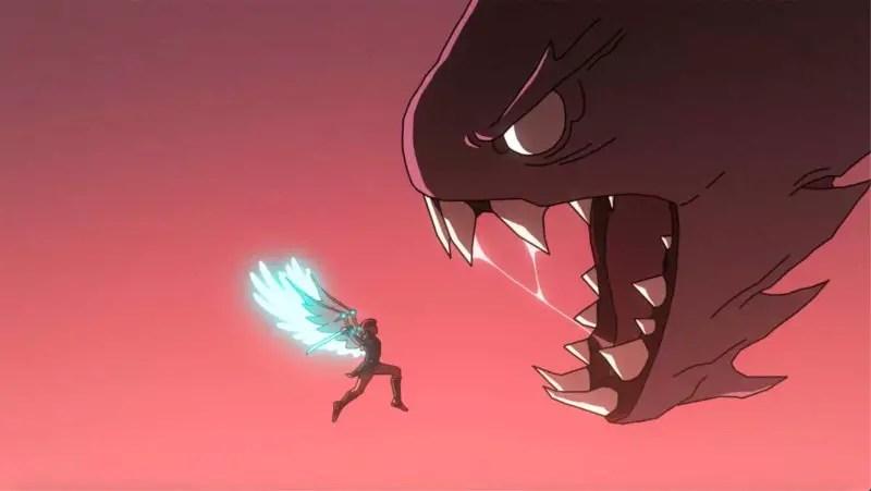 combat-femme-fenyx-monstre-rouge