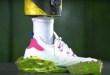 Adidas mêle art satisfaisant, ASMR et baskets pour une vidéo de 12h
