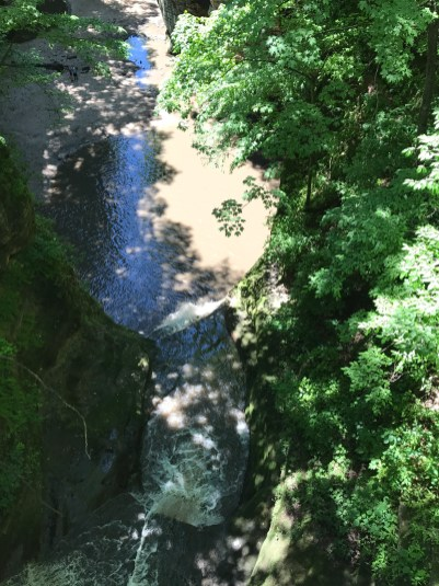 View into Lower Dells