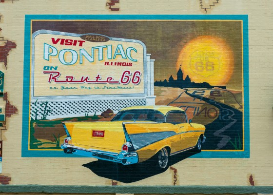 murals of pontiac, illinois
