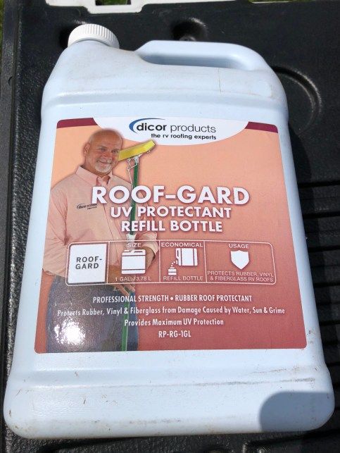 rubber roof protectant