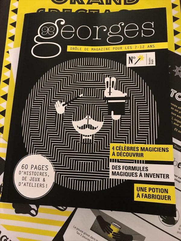 Georges numéro magie