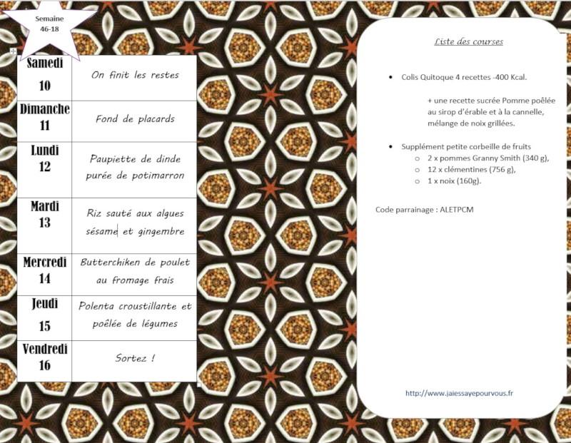 menus semaine 46-2018