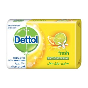Dettol Anti-Bacterial Bar Soap Fresh
