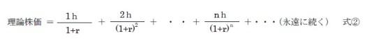 理論株価式2