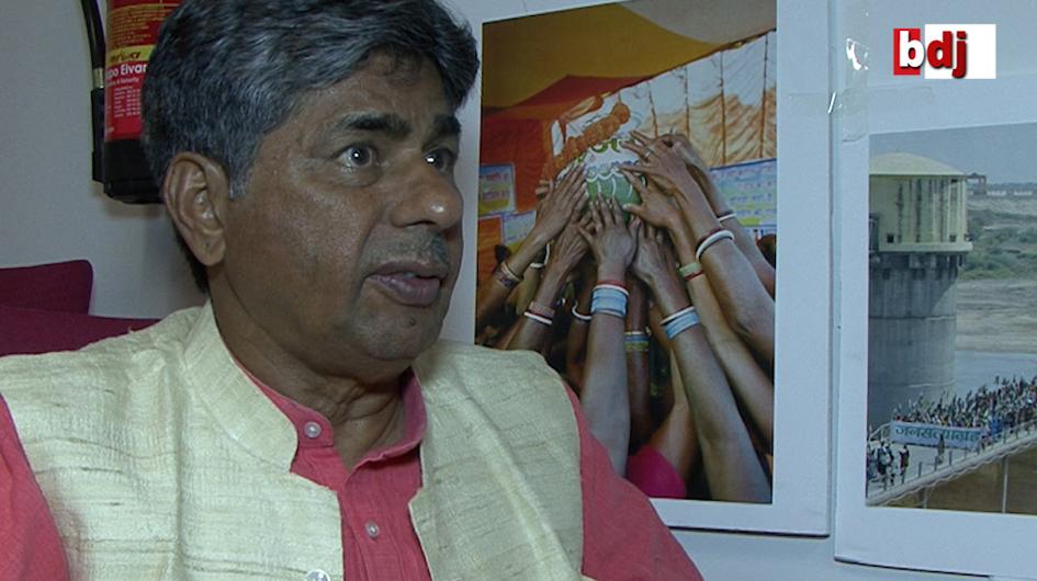 Entrevista con Rajagopal, fundador del movimiento noviolento Ekta Parishad