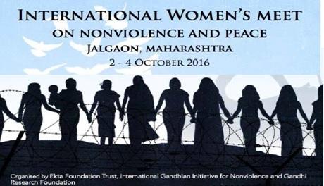 Desde las bases a la acción global: Encuentro internacional de mujeres por la paz y la noviolencia