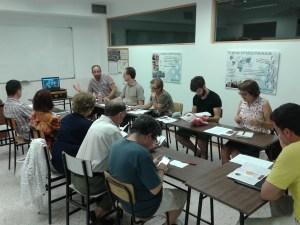 Presentación de Jai Jagat a la Coordinadora de ONGD de Castilla y León
