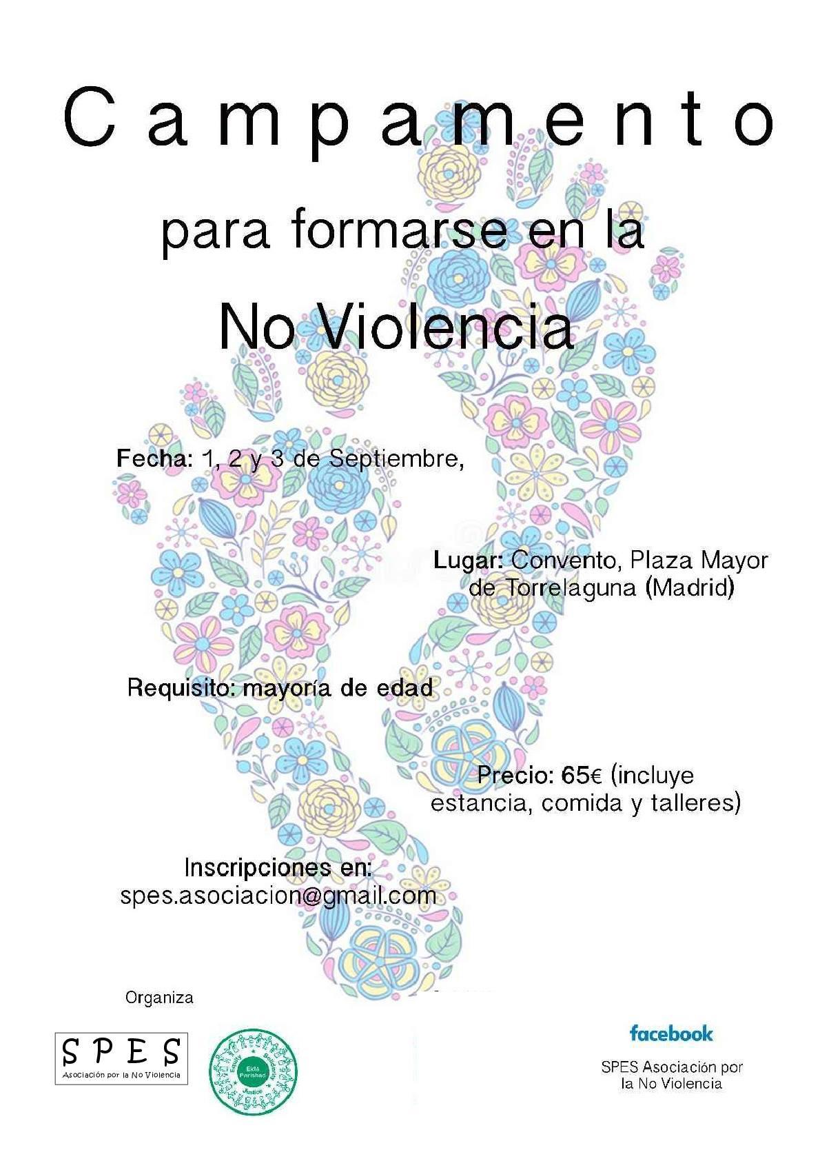 Campamento de No Violencia