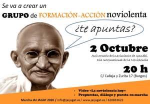 Burgos: grupo de formación-acción noviolenta