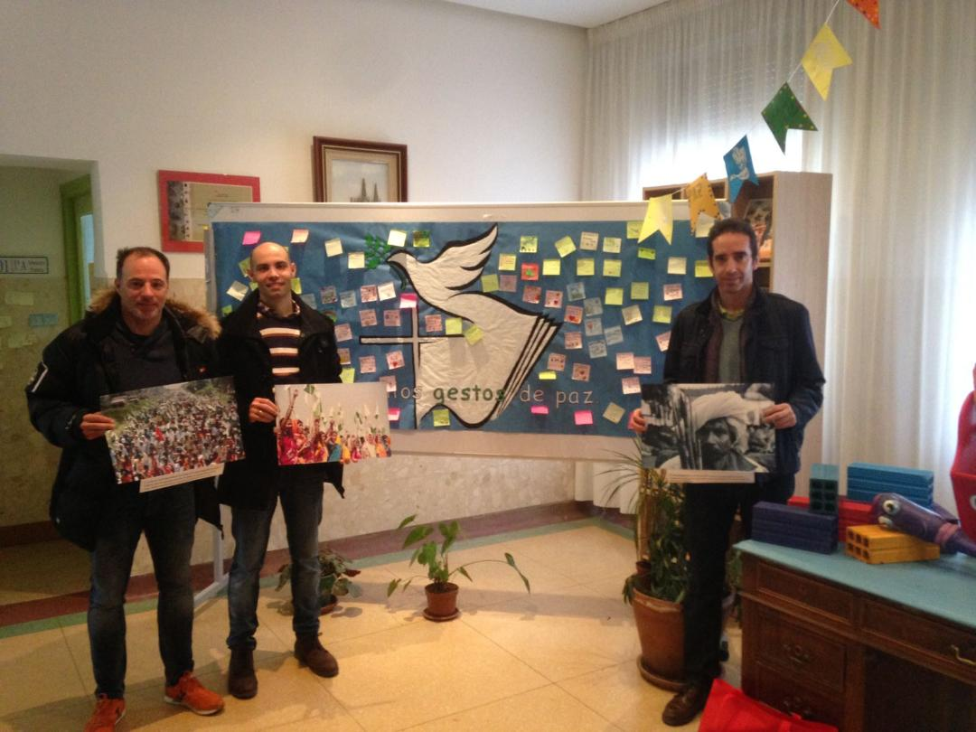 Buena acogida a los talleres Jai-Jagat en colegios de Burgos