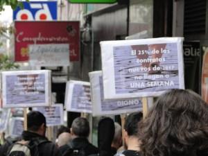 Madrid: Marcha por el trabajo digno