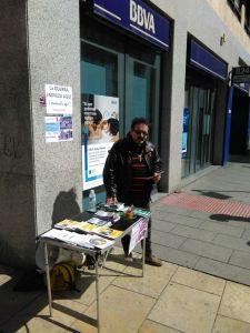 Burgos: Denunciando en las calles el negocio de las armas