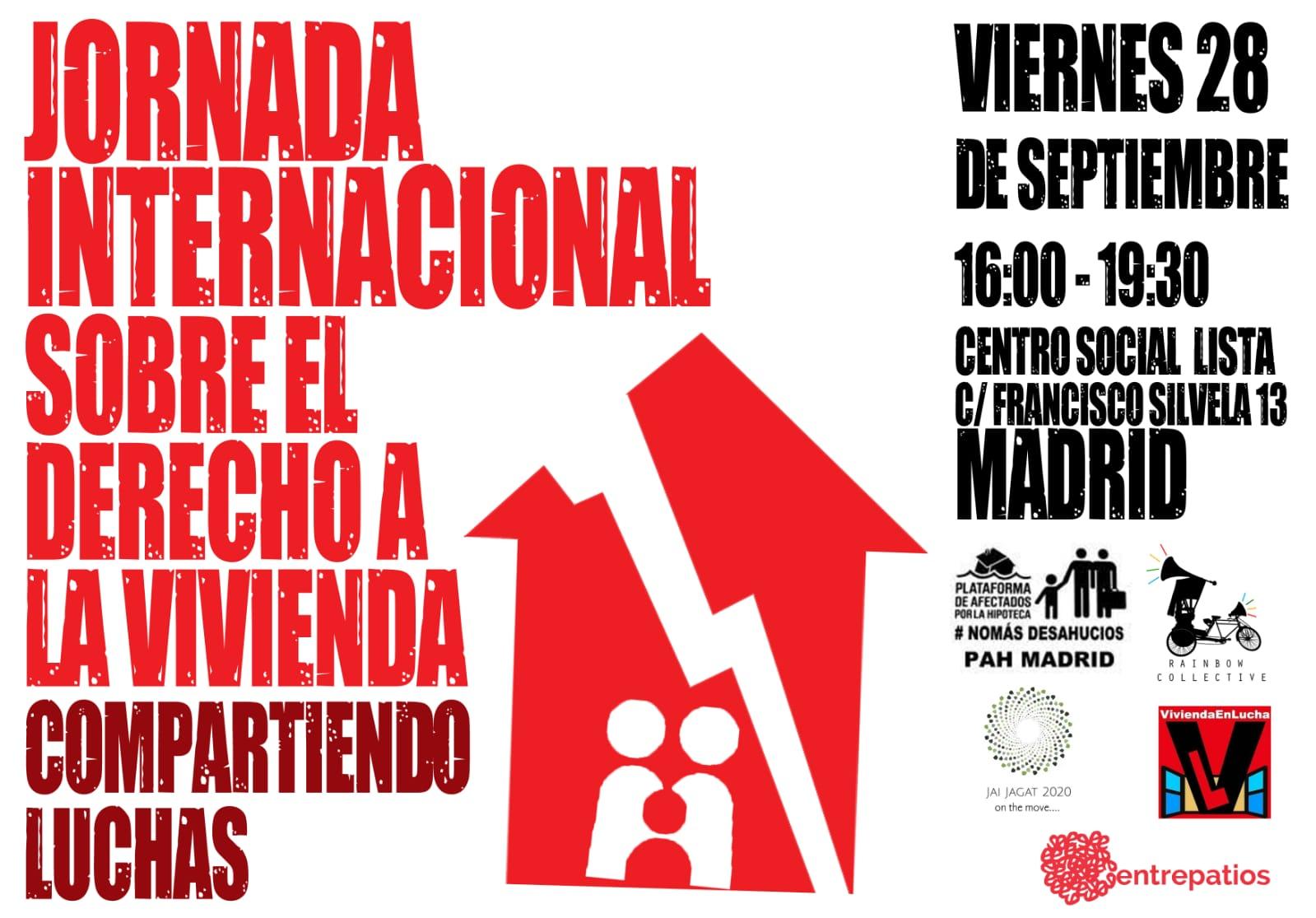 Madrid: Compartiendo luchas