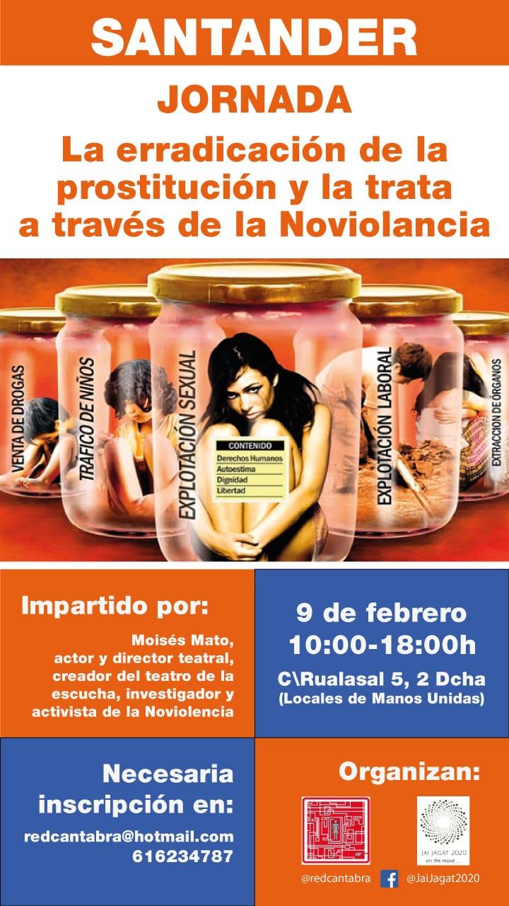Santander. Erradicación de prostitución y trata a través de la noviolencia
