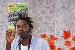 Papalaye Papalayee, del Sindicato de Vendedores Ambulantes de Barcelona