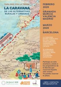 La caravana de las alternativas rurales y urbanas