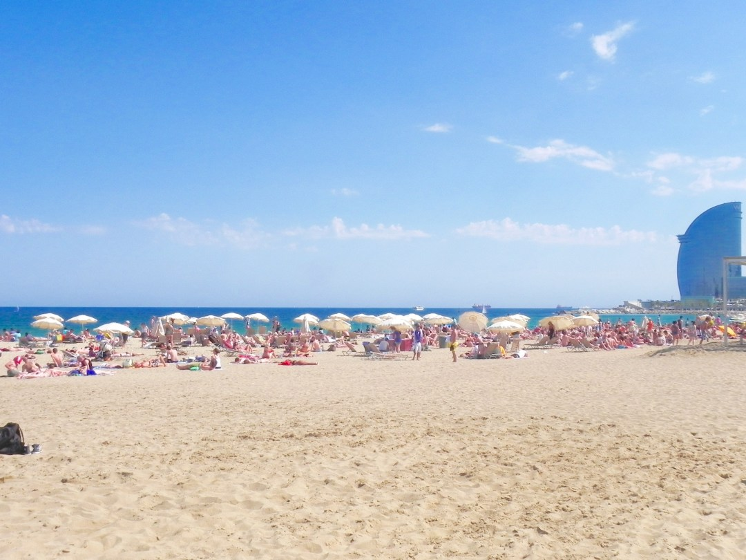 plage-barcelone