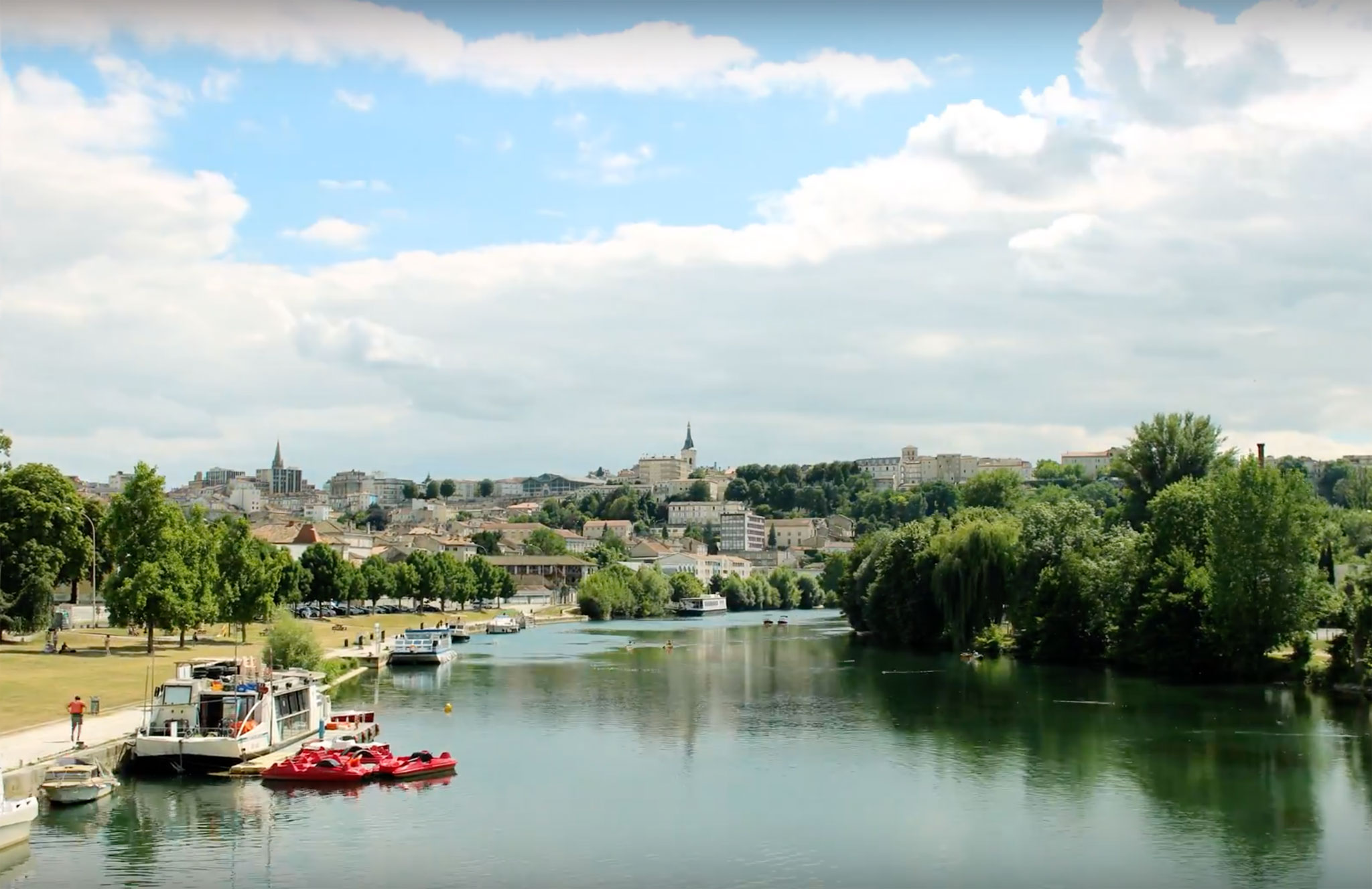 La ville d'Angoulême