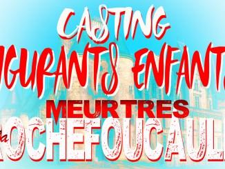 """Casting enfants pour le téléfilm """"Meurtres à la Rochefoucauld"""""""