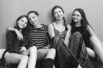 Pretty Outrageous The Movie 2016, The Girl Band, Jaime Adler, Isabella Blake Thomas, Scarlett Rayner, Ladybird Ward