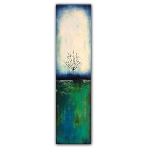 Reflections No. 9 Landscape abstract oil painting