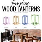 Wood Lantern Centerpieces Free Plans Jaime Costiglio