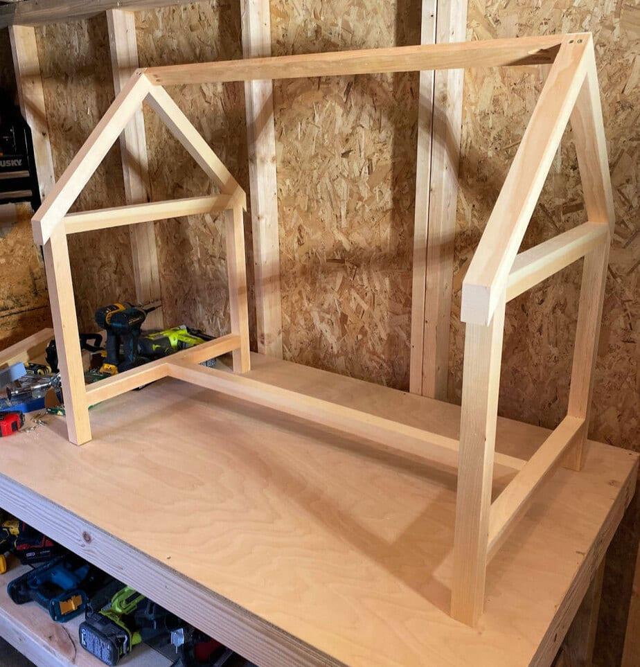 diy house play table desk stool free