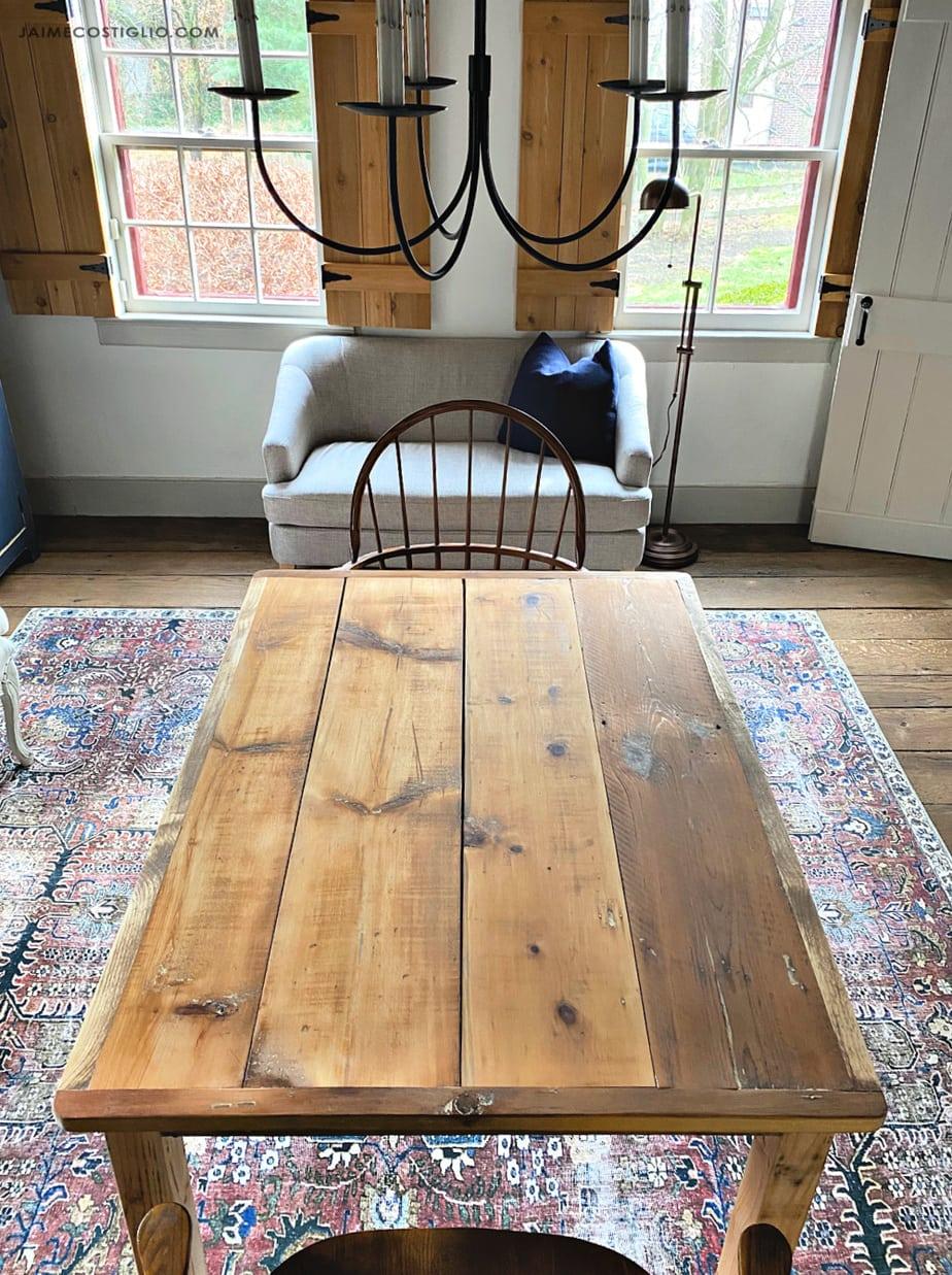 diy shiplap simple table jaime costiglio
