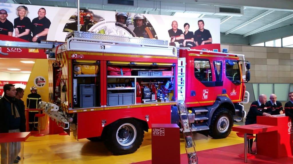 Foire internationale et gastronomique de Dijon : Les pompiers mis à l'honneur par le département