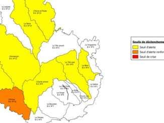 restrictions d'eau en Côte d'Or