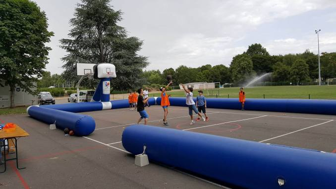 La caravane du basket