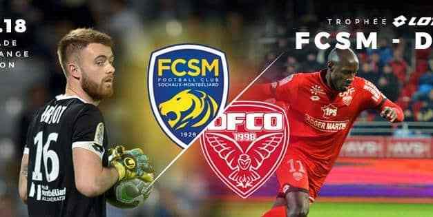 Football : Trophée LOTTO Match FCSM – DFCO samedi 21 juillet